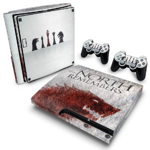 PS3 Slim Skin - Game of Thrones #A