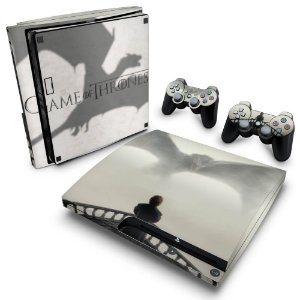 PS3 Slim Skin - Game of Thrones #B
