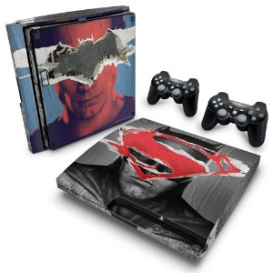PS3 Slim Skin - Batman vs Superman
