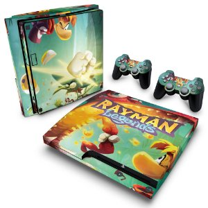 PS3 Slim Skin - Rayman Legends