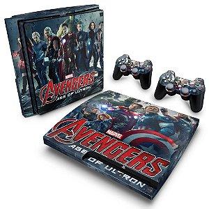 PS3 Slim Skin - Vingadores 2: A Era de Ultron