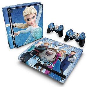 PS3 Slim Skin - Frozen