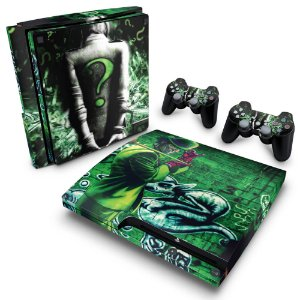 PS3 Slim Skin - Charada Batman