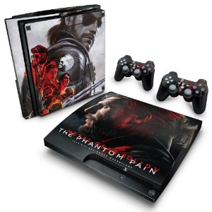 PS3 Slim Skin - Metal Gear Solid 5: The Phantom Pain