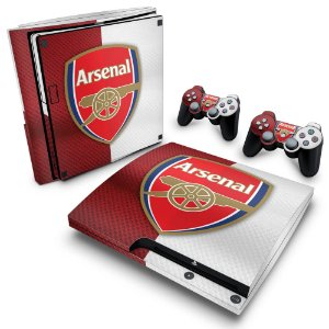 PS3 Slim Skin - Arsenal