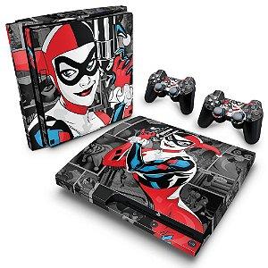 PS3 Slim Skin - Arlequina Harley Quinn