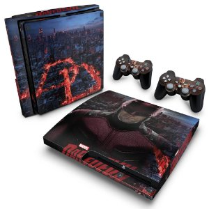 PS3 Slim Skin - Daredevil Demolidor