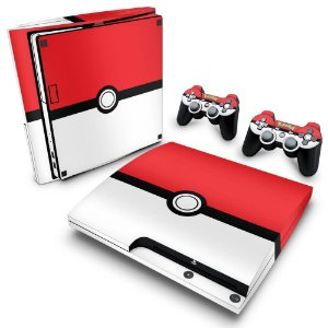 PS3 Slim Skin - Pokemon Pokebola
