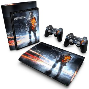 PS3 Super Slim Skin - Battlefield 3