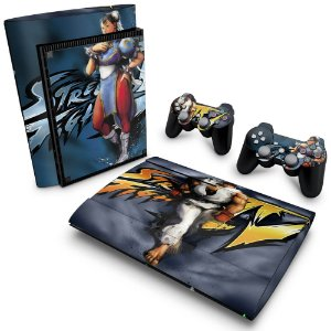PS3 Super Slim Skin - Street Fighter 4