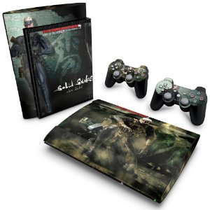 PS3 Super Slim Skin - Metal Gear Solid 4