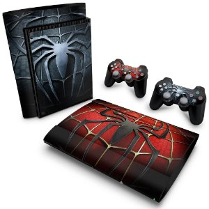 PS3 Super Slim Skin - Spider Man - Homem Aranha