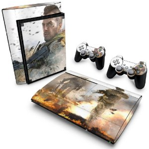 PS3 Super Slim Skin - Modern Warfare 2