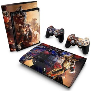 PS3 Super Slim Skin - Transformers Revenge of the Fallen