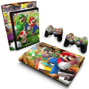 PS3 Super Slim Skin - Super Mario