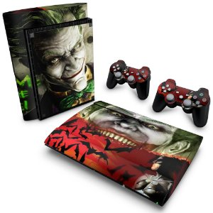 PS3 Super Slim Skin - Batman Akham Asylum