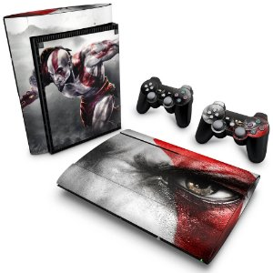 PS3 Super Slim Skin - God of War 3 #B