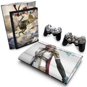PS3 Super Slim Skin - Final Fantasy XIII #B