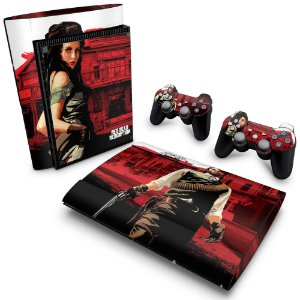 PS3 Super Slim Skin - Red Dead Redemption