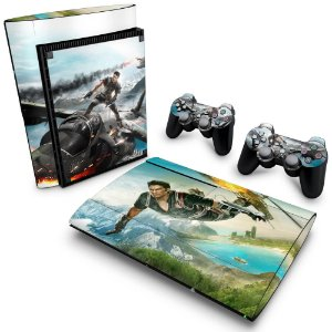 PS3 Super Slim Skin - Just Cause 2