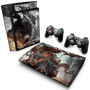 PS3 Super Slim Skin - Darksiders Wrath of War