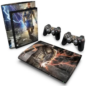 PS3 Super Slim Skin - Infamous