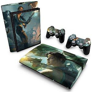 PS3 Super Slim Skin - Lara Croft and the Guardian of Light