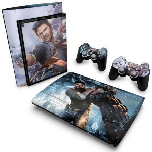 PS3 Super Slim Skin - Uncharted 2