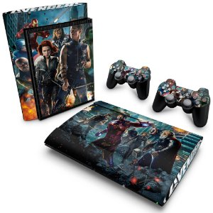 PS3 Super Slim Skin - The Avengers - Os Vingadores