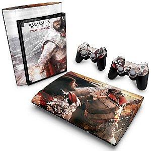 PS3 Super Slim Skin - Assassins Creed Brotherhood #B