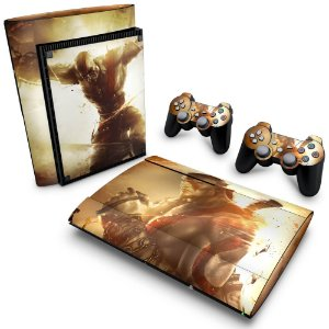 PS3 Super Slim Skin - God of War Ascension