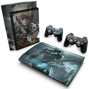 PS3 Super Slim Skin - Metal Gear Solid Rising