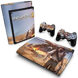 PS3 Super Slim Skin - Uncharted 3