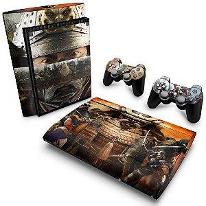 PS3 Super Slim Skin - Shogun 2 Total War