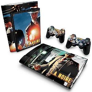 PS3 Super Slim Skin - L.A. Noire