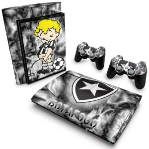 PS3 Super Slim Skin - Botafogo