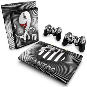 PS3 Super Slim Skin - Santos