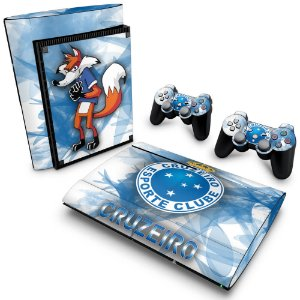 PS3 Super Slim Skin - Cruzeiro
