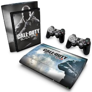 PS3 Super Slim Skin - Call of Duty Black Ops 2