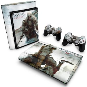 PS3 Super Slim Skin - Assassins Creed 3