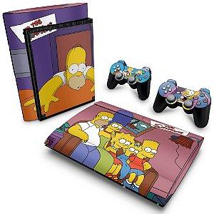 PS3 Super Slim Skin - The Simpsons