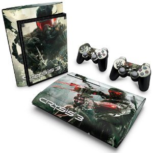 PS3 Super Slim Skin - Crysis 3