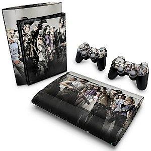 PS3 Super Slim Skin - The Walking Dead #A