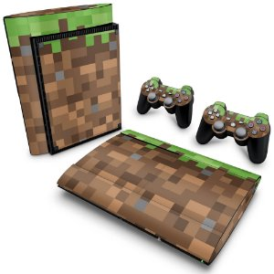PS3 Super Slim Skin - Minecraft