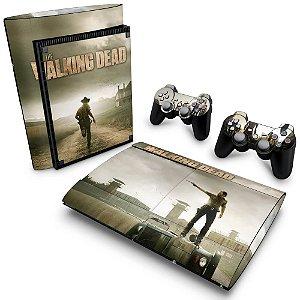 PS3 Super Slim Skin - The Walking Dead #B