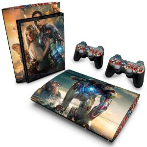 PS3 Super Slim Skin - Iron Man - Homem de Ferro #A