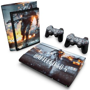 PS3 Super Slim Skin - Battlefield 4