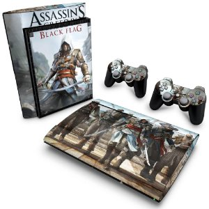 PS3 Super Slim Skin - Assassins Creed IV Black Flag