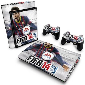 PS3 Super Slim Skin - FIFA 14