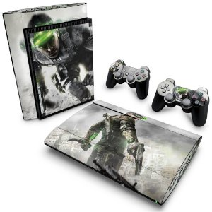 PS3 Super Slim Skin - Splinter Cell Blacklist